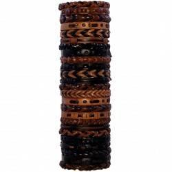 Bracelets variés dans le tube. En gros. BR 019/20