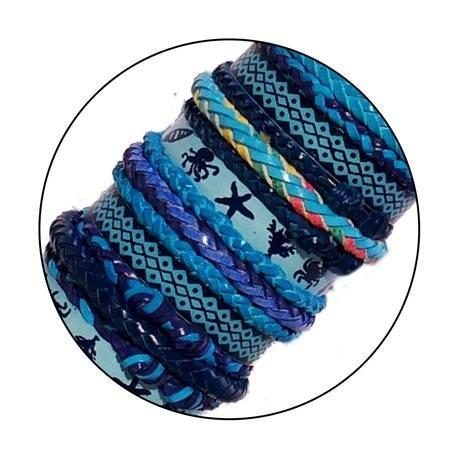 Braided bracelets. Wholesale. TR 031