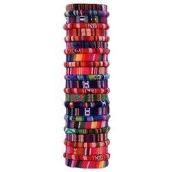 Pulseras textiles. Venta al por mayor. TX 058