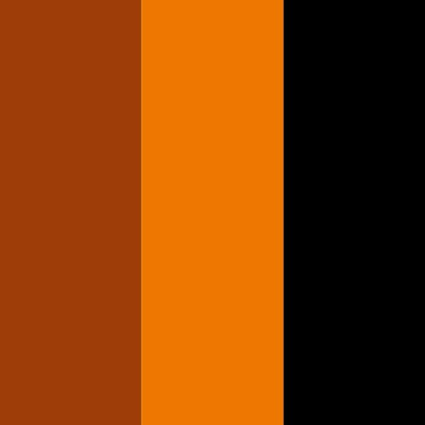 Browns and black