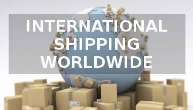 International shipping worldwide