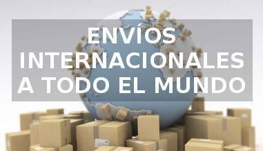 Envíos internacionales a todo el mundo